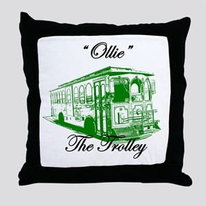 AFTM Ollie The Trolley Side G Throw Pillow