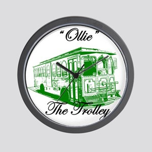 AFTM Ollie The Trolley Side G Wall Clock