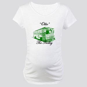 AFTM Ollie The Trolley Side G Maternity T-Shirt