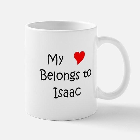 Cute My name isaac Mug