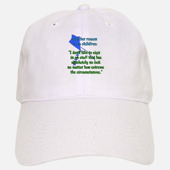 Child-Free Reason Baseball Baseball Cap