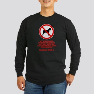 Wirehaired Pointing Griffon Long Sleeve Dark T-Shi