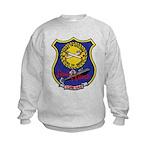 USS LEWIS AND CLARK Kids Sweatshirt