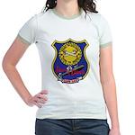 USS LEWIS AND CLARK Jr. Ringer T-Shirt