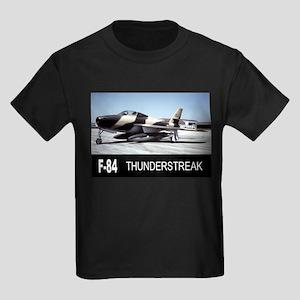 F-84 F THUNDERSTREAK Kids Dark T-Shirt