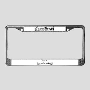 Scootlife License Plate Frame