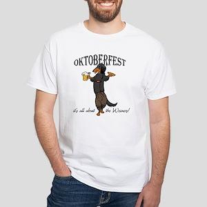 LHBT Oktoberfest Dachsie White T-Shirt