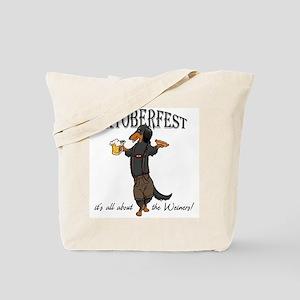 LHBT Oktoberfest Dachsie Tote Bag
