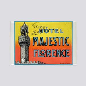 Hotel Majestic (Florence) Rectangle Magnet