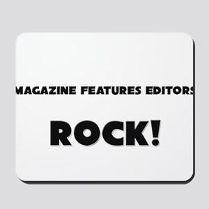 Magazine Features Editors ROCK Mousepad