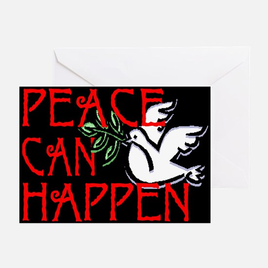 Peace Can Happen Greeting Cards (Pk of 10)