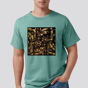 vintage floral gold ornament T-Shirt