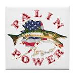Palin Power Tile Coaster
