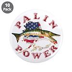 """Palin Power 3.5"""" Button (10 pack)"""