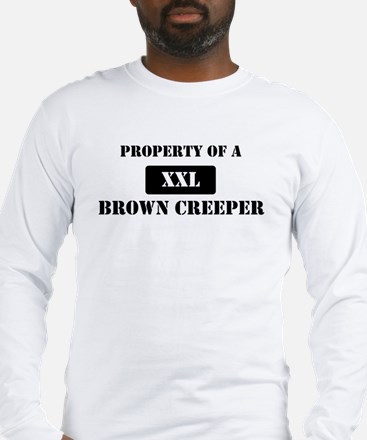 Property of a Brown Creeper Long Sleeve T-Shirt