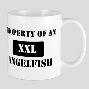 Property of a Angelfish Mug