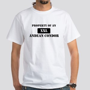 Property of a Andean Condor White T-Shirt