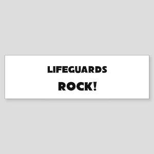 Lifeguards ROCK Bumper Sticker
