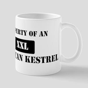 Property of a American Kestre Mug