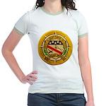 USS ALBERT DAVID Jr. Ringer T-Shirt