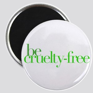 """Be Cruelty-Free 2.25"""" Magnet (10 pack)"""