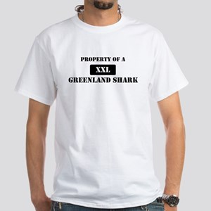 Property of a Greenland Shark White T-Shirt
