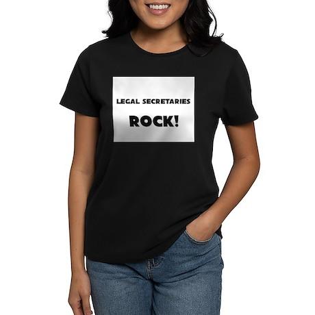 Legal Secretaries ROCK Women's Dark T-Shirt