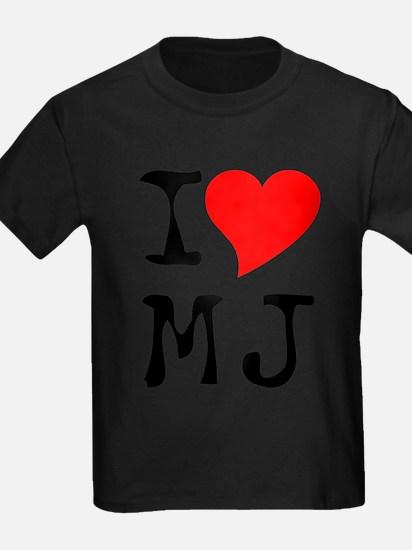 I Love MJ Tee T-Shirt