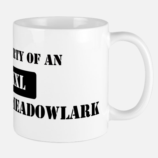 Property of a Eastern Meadowl Mug