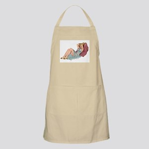 Double Pillow Girl BBQ Apron