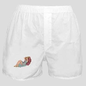 Double Pillow Girl Boxer Shorts
