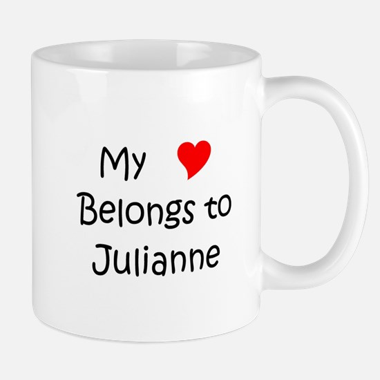 Cute My name julianne Mug