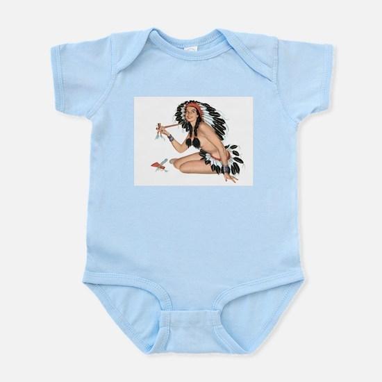 Indian Girl Infant Creeper