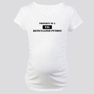 Property of a Reticulated Pyt Maternity T-Shirt