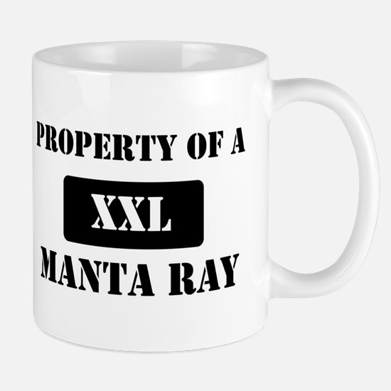 Property of a Manta Ray Mug