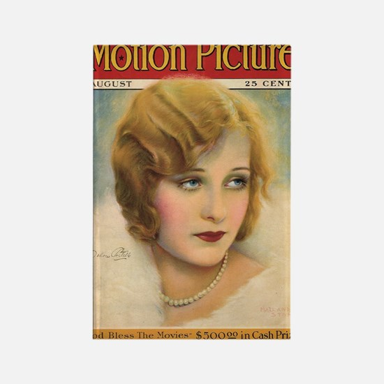 Dolores Costello Rectangle Magnet