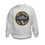 USS ADROIT Kids Sweatshirt
