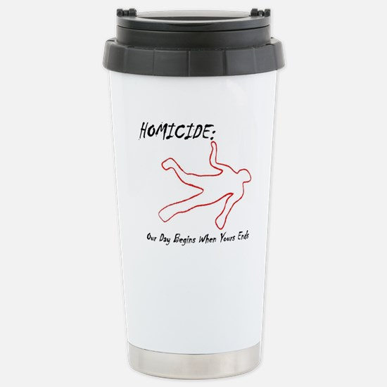 Homicide (Squad) Stainless Steel Travel Mug