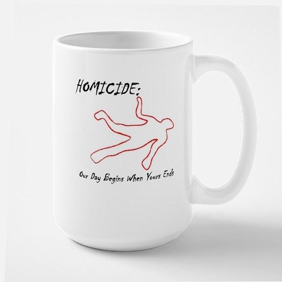 Homicide (Squad) Large Mug