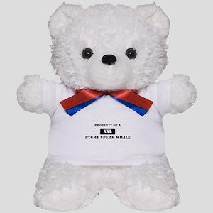 Property of a Pygmy Sperm Wha Teddy Bear