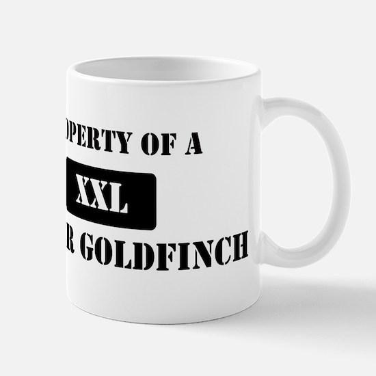 Property of a Lesser Goldfinc Mug