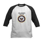 USS ADVANCE Kids Baseball Jersey