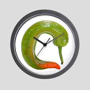 A Chili Pepper On Your Wall Clock