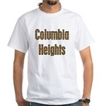 Columbia Heights White T-Shirt