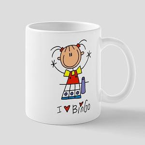 I Love Bingo! Lefty Mug