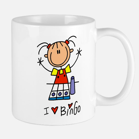 I Love Bingo! Lefty Mug