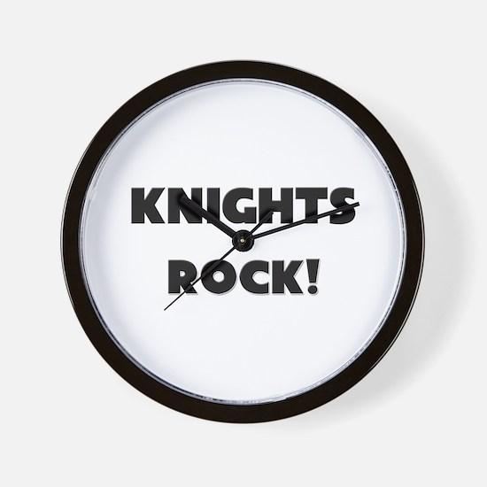 Knights ROCK Wall Clock