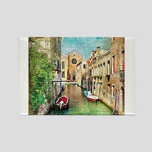 Vintage Venice Photo Magnets