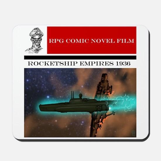 Rocketship Empires Film Promo Mousepad