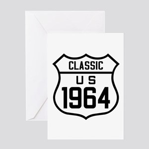 Classic US 1964 Greeting Cards